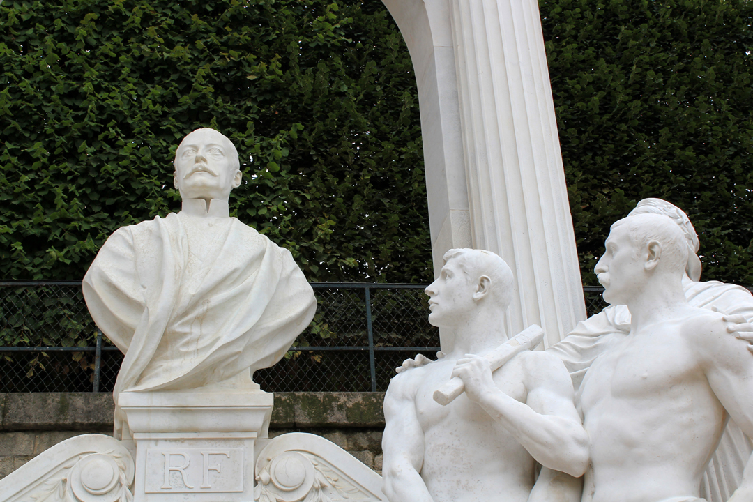 Monument to Pierre Waldeck-Rousseau; Tuileries Garden, Paris