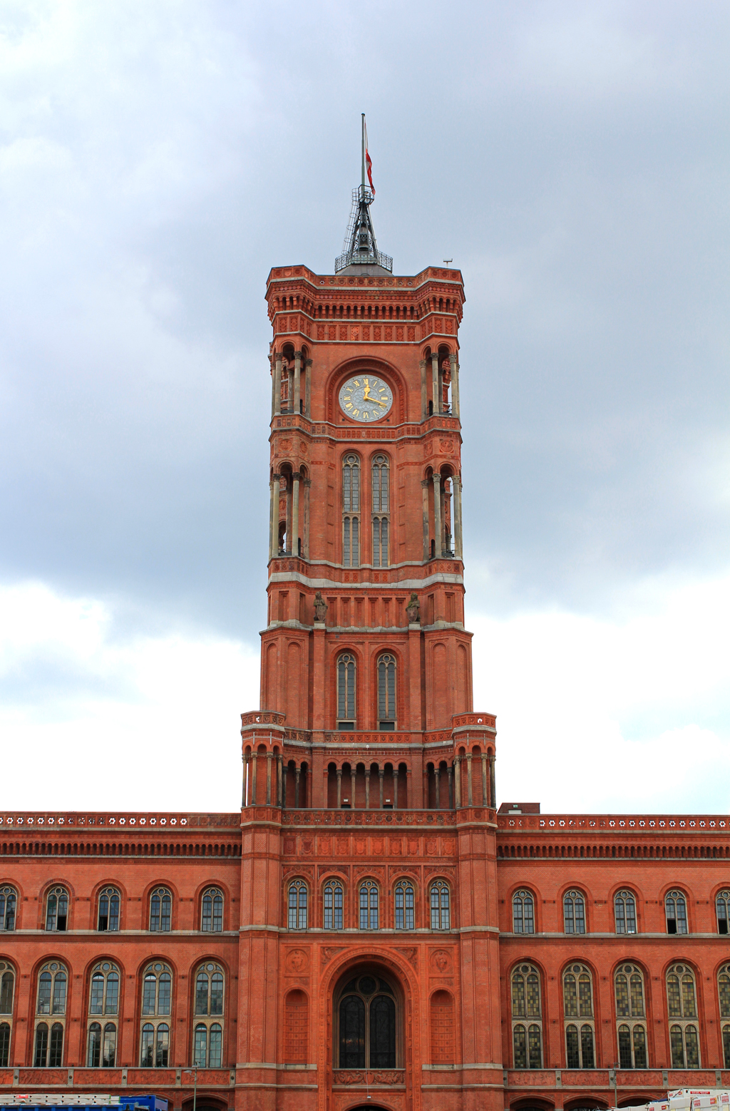 rotes rathaus red city hall mitte berlin civic arts. Black Bedroom Furniture Sets. Home Design Ideas