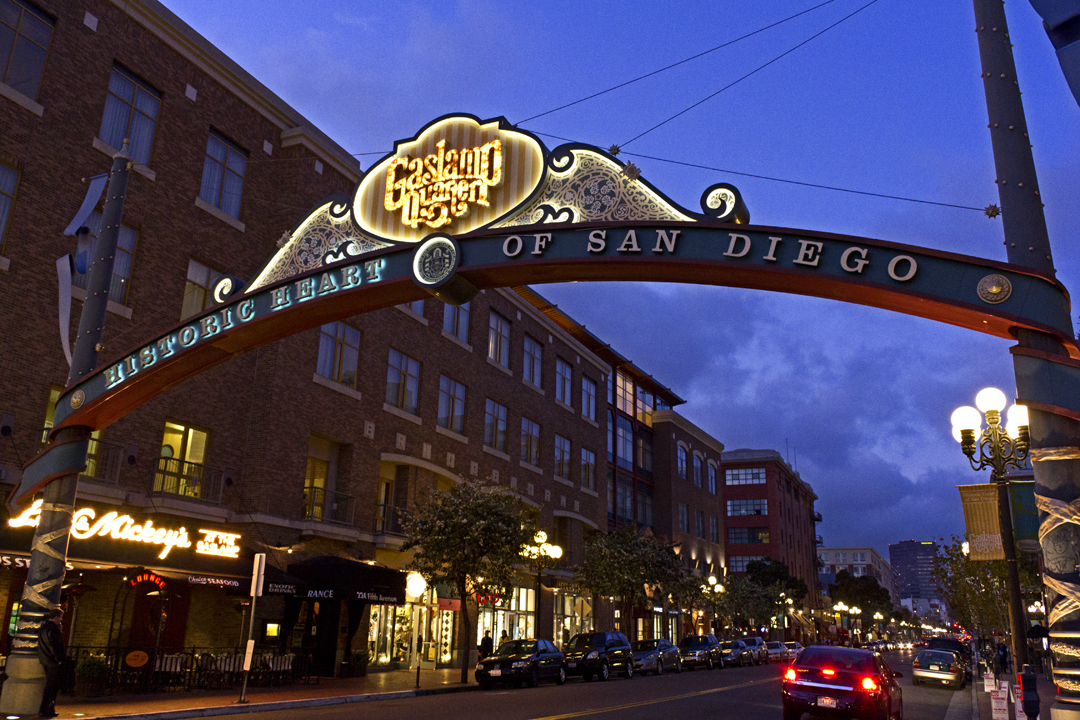 Gaslamp Quarter Neon - San Diego, CA - Neon Signs on ...