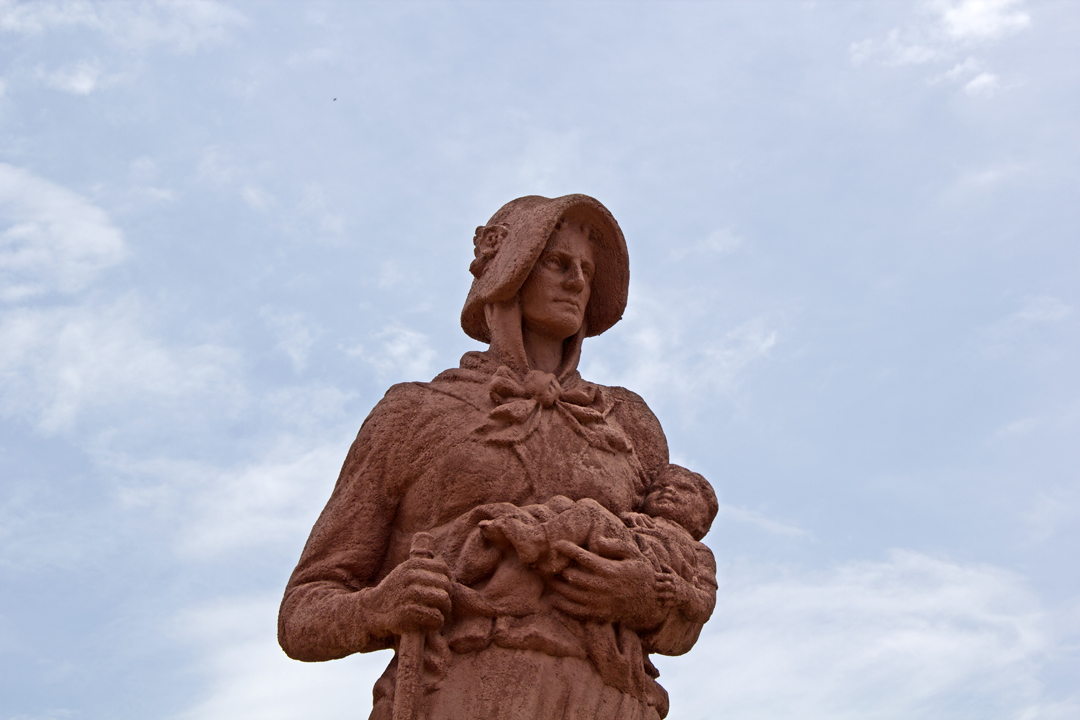 Madonna of the Trail; Springfield, Ohio