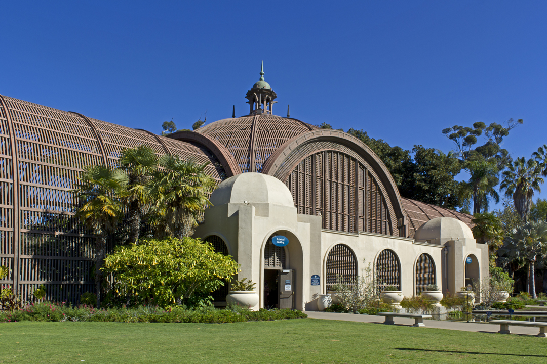 Balboa Park Botanical Building San Diego Civic Arts Project