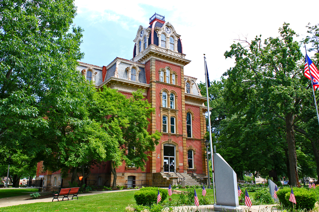 Coshocton County Courthouse Coshocton Ohio Civic Arts