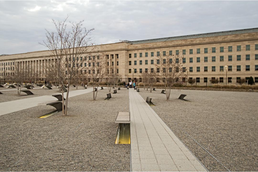 The National 9 11 Pentagon Memorial Arlington Virginia