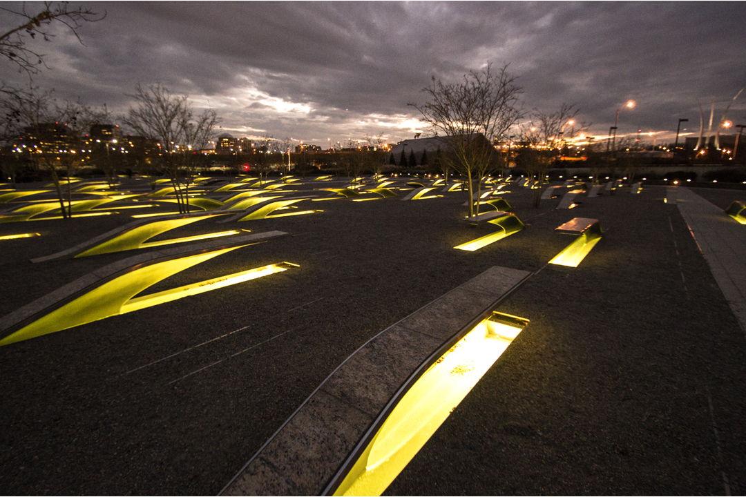 The National 9 11 Pentagon Memorial Arlington Virginia